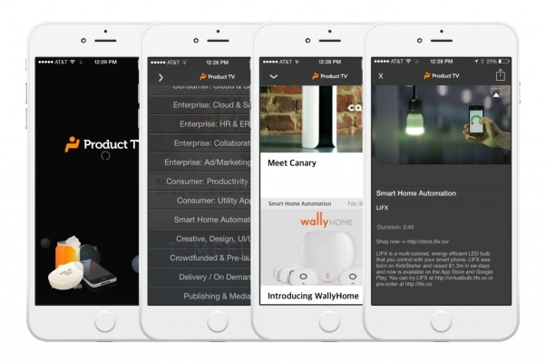 Product TV Is A Video-Centric Mobile App For Finding Cool New Products