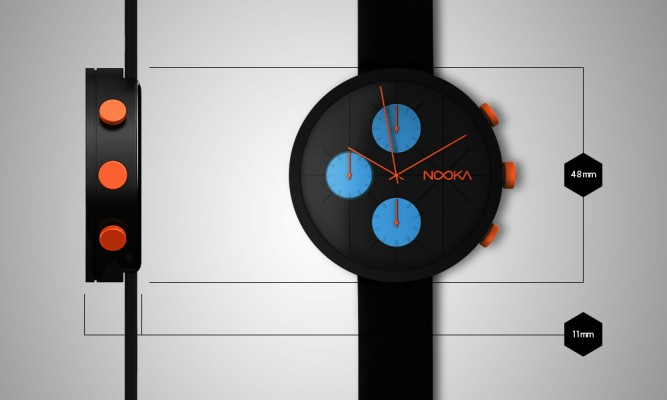 Nooka Watches Crowdfunds A Cool New Custom Chronograph