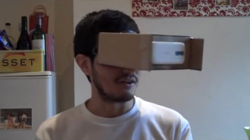 How To Make Your Own #Cardboard VR Goggles
