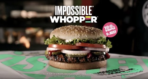 Burger King will roll out the Impossible Burger nationwide by the end of the year
