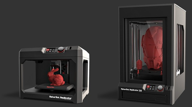 MakerBot Now Shipping Massive Z18 3D Printer