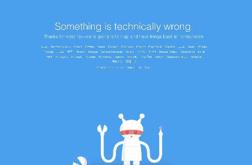 It's not just you, Twitter is down