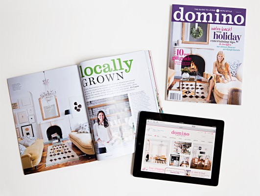 Domino Magazine Re-Launches As A Digital, Shoppable Publication