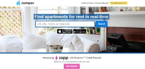 Real Estate Startup Zumper Launches Zapp, So Renters Can Apply For Apartments In-App
