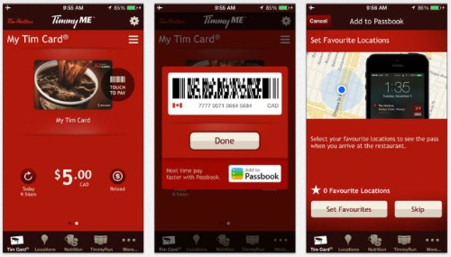 Tim Hortons Launches In-App Mobile Payments For U.S. And Canada