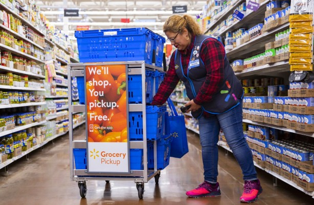 Walmart Grocery app sees record downloads amid COVID-19, surpasses Amazon by 20% – TechCrunch