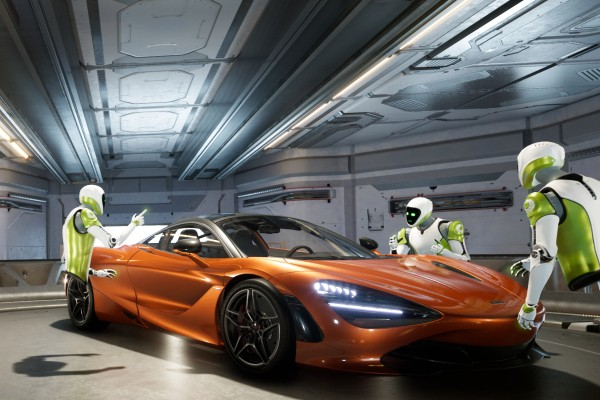 Nvidia built a real Holodeck, aimed at creative collaboration