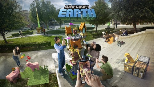 You can now register for the Minecraft Earth closed beta