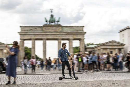Audi's new scooter might actually solve a major problem with scooters