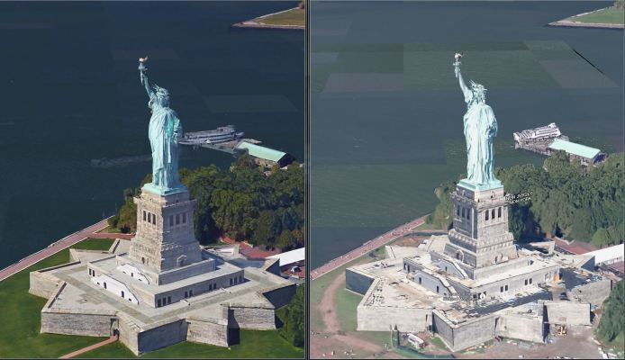 Google Maps Rolls Out Improved High-Res 3D Imagery For NY And SF