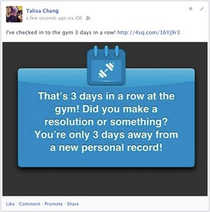 As Users Tire Of Mayorship Wars, Foursquare Finds A New Way To Encourage Check-Ins: By Tapping Into Quantified Self Buzz