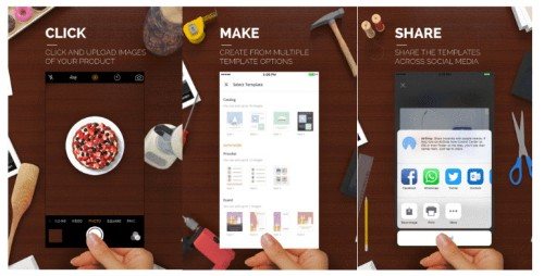 Microsoft's Sprightly app lets you create professional designs from your smartphone