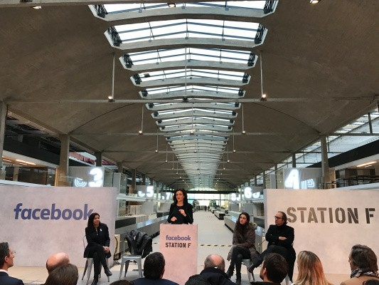 Facebook to open Startup Garage at Station F in Paris