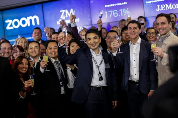 Looking back at Zoom's IPO with CEO Eric Yuan – TechCrunch
