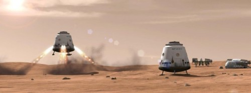 "SpaceX's Mars Colonial Transporter can go ""well beyond"" Mars"