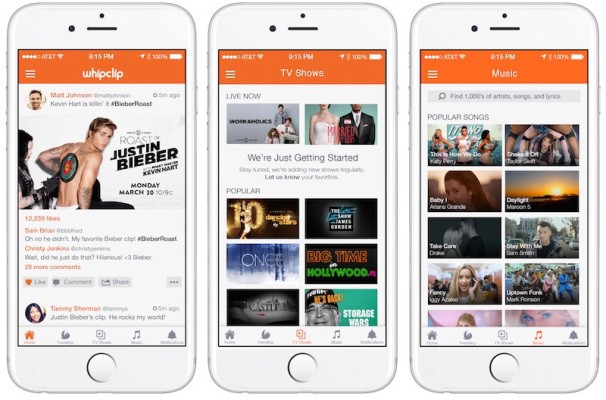 Whipclip Raises Over $40 Million For Its TV Show And Music Video Clipping App