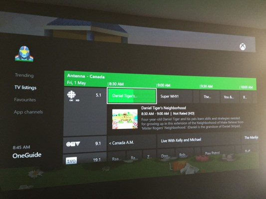 Xbox One Over-The-Air TV Tuner Now Available