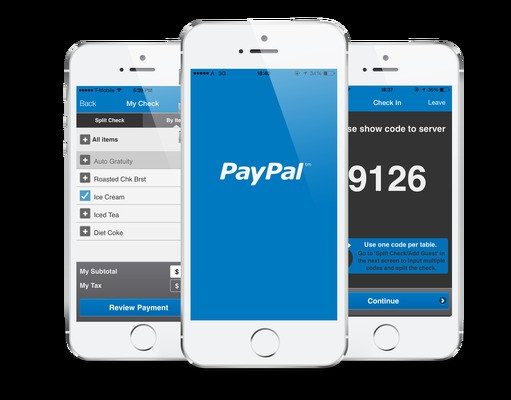 MyCheck Now Lets You Pay At Table, Split Bills And Tip Right From PayPal App