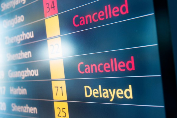 Service Protect will automatically detect when your flight is delayed and request compensation