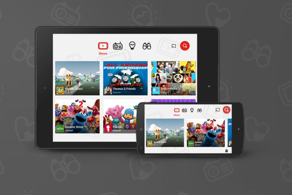 YouTube Kids adds a whitelisting parental control feature, plus a new experience for tweens