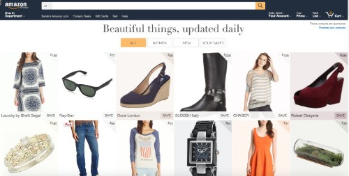 Amazon Tests A New Feature Called Stream, A Photo-Filled Product Feed Updated Daily