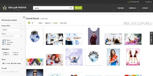 Fotolia Launches Dollar Photo Club, An Exclusive Club For Heavy Stock Photo Clients