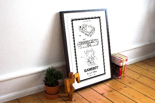 Retro Patents turns famous inventions into art you can buy