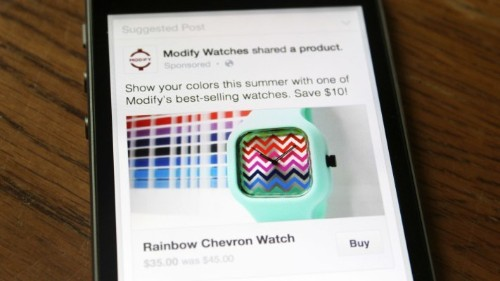 Facebook Tests Buy Button To Let You Purchase Stuff Without Leaving Facebook