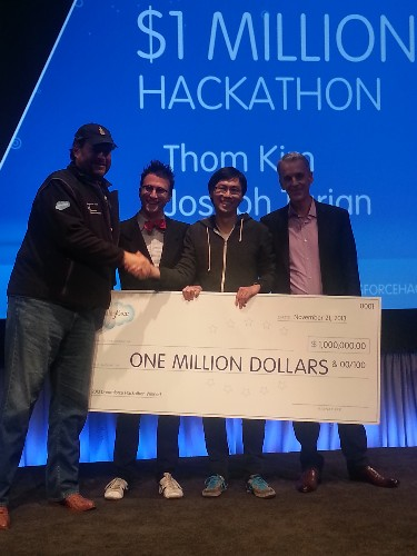 Two Harvard University Alum Win Disputed Salesforce $1M Hackathon Prize At Dreamforce [Updated]