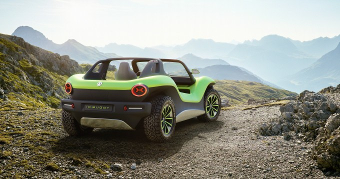 VW's futuristic all-electric dune buggy embraces its 1960s' roots