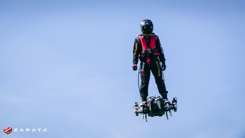 On second attempt, hoverboard inventor successfully crosses Channel