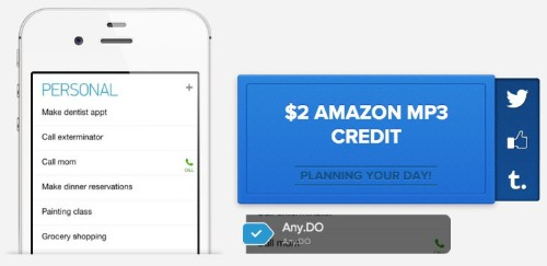 Any.DO Integrates Kiip's Reward System To Make Completing To-Do Lists A Daily, And Fun, Habit