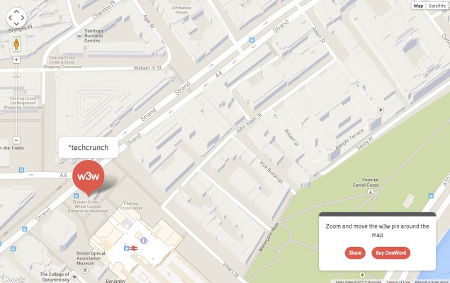 what3words Raises $500K Seed For Its Location-Pinpointing Push To Reinvent Postcodes