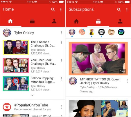 Users Pummel YouTube's iOS Update With One-Star Reviews