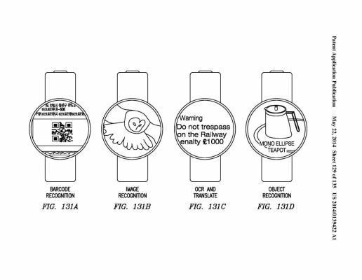 Samsung Wearable Patents Feature Circular Face, Gesture Controls And Image Recognition