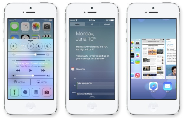 Apple Introduces iOS 7