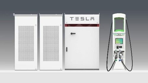 VW's Electrify America will use Tesla battery packs to lower charging costs