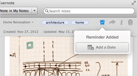 Evernote Adds Reminders To Help Users With To-Do's, Tasks & Projects