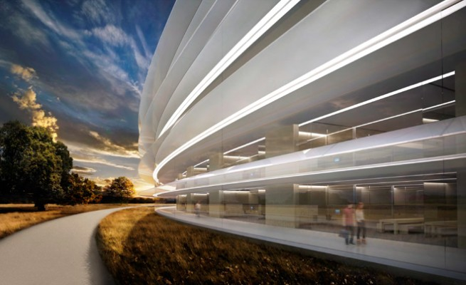 This Is Apple's New Mothership Of An HQ