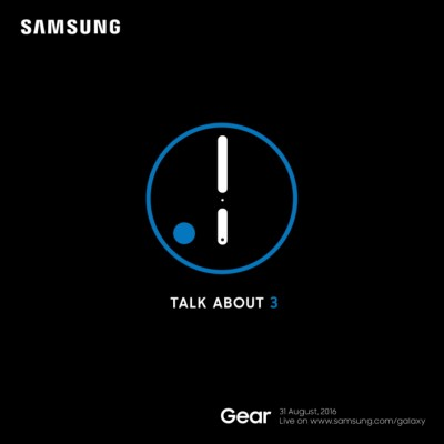 Samsung will launch the Gear S3, its newest smartwatch, on August 31 – TechCrunch