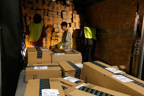Amazon is pushing for one-day Prime shipping