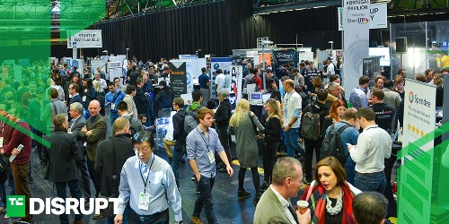 Get your Startup Alley exhibitor table for Disrupt Berlin 2018