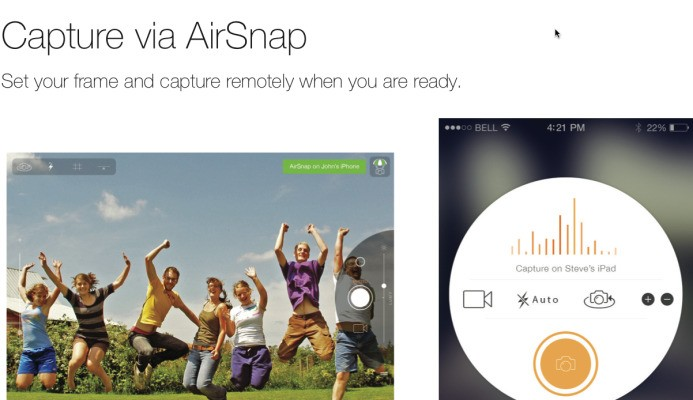 AirSnap Helps You Take Beautiful Group Selfies By Pairing Two iOS Devices