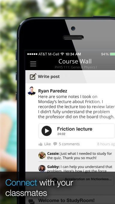 StudyRoom Lets College Students Join Online Study Groups, Book Tutors