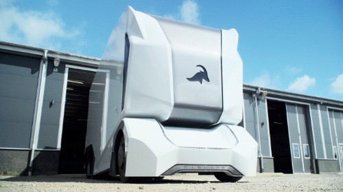 Einride's T-Pod self-driving transport EV gets a full-scale prototype