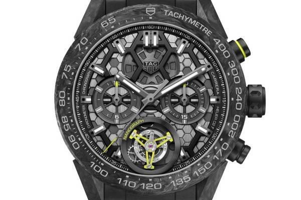 The new TAG Heuer Carrera Calibre Tourbillon Nanograph is a lot of buzzwords in a beautiful package