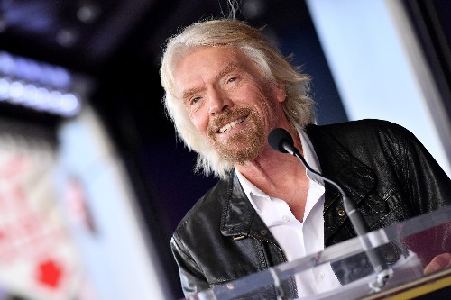 Richard Branson steps down as chairman of Virgin Hyperloop One