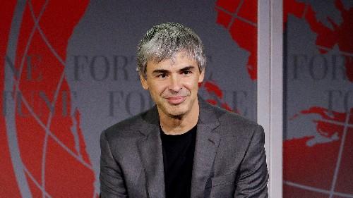 Larry Page's secret war on the flu