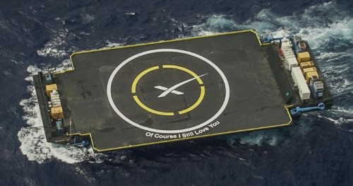 SpaceX successfully launches SES-9 into GEO but crash lands rocket on drone ship