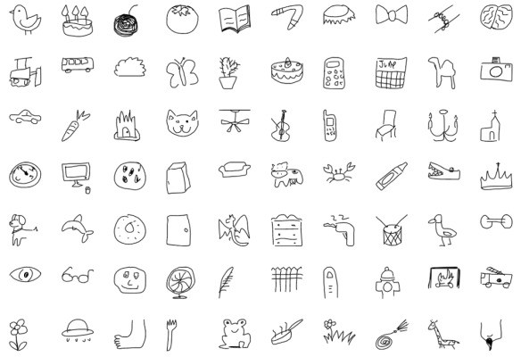 Google releases millions of bad drawings for you (and your AI) to paw through
